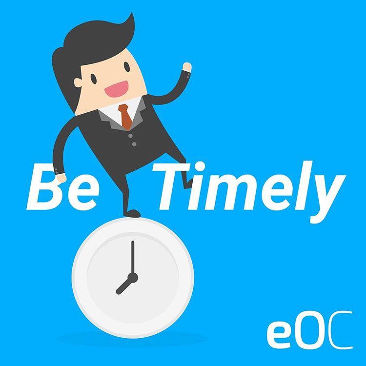 Be timely in answering reviews