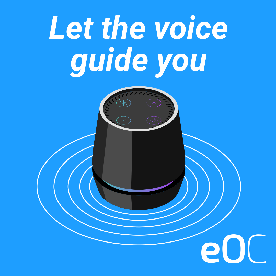 Let the voice guide you